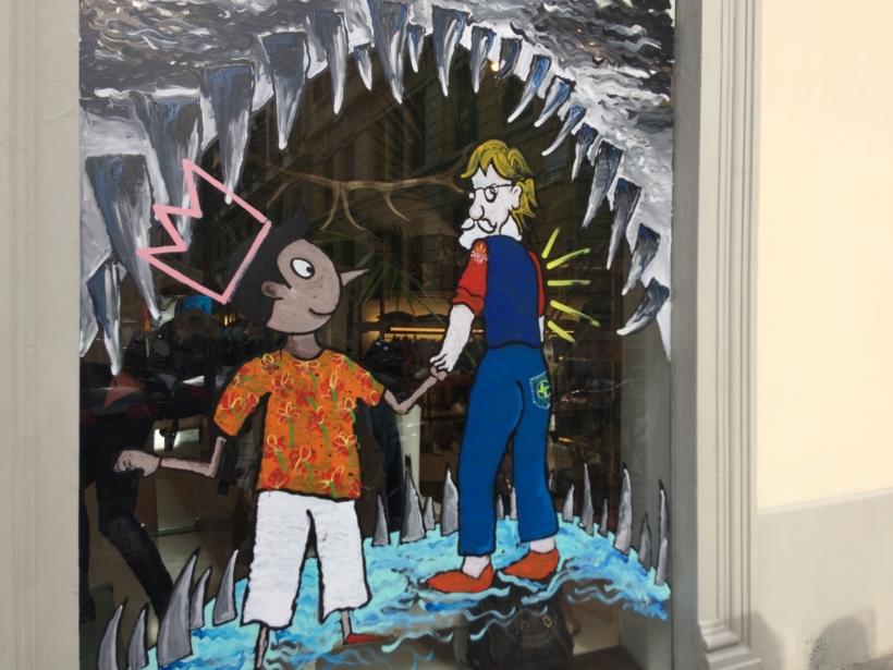Pinocchio in vetrina