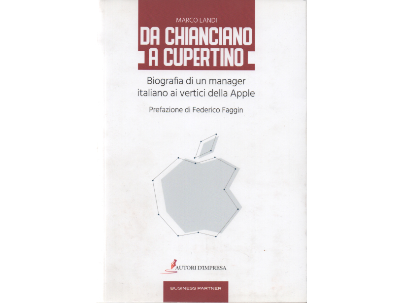 Un senese al top della Apple